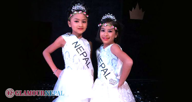 Sambridhi and Samyukti grab awards at Little Miss and Mister Eurasia 2015