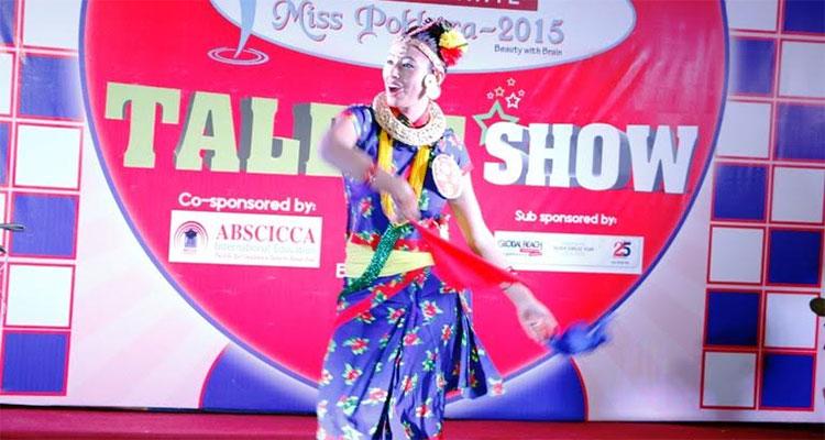 miss pokhara talent show