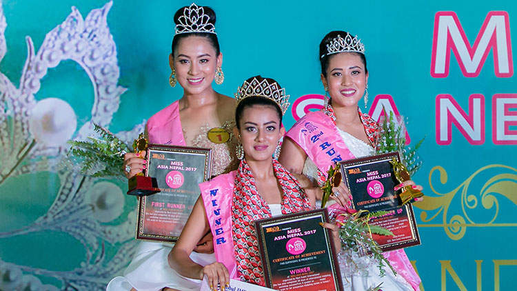 Miss Asia Nepal 2017 Winners