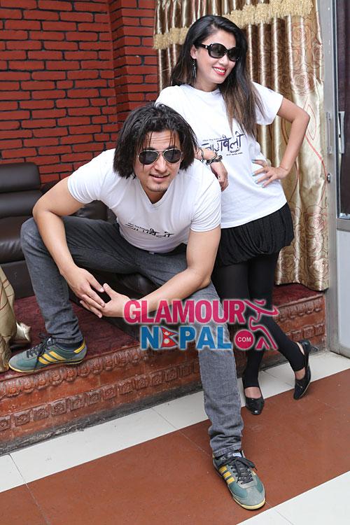Nepali Movie Nagbeli Press Meet Pictures  Glamour Nepal-6854