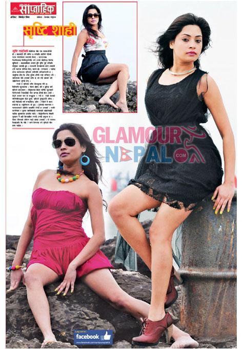 Model Shristi Shahi | Photo: Nirmal Shrestha