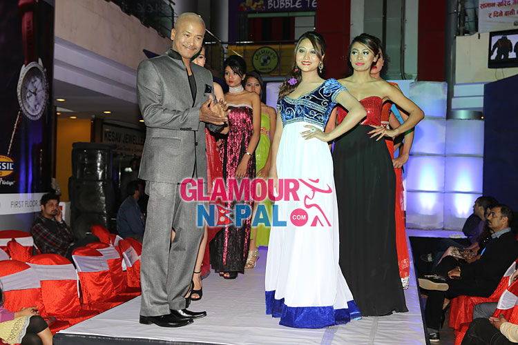 Photographer Raj Bhai Suwal and Actress Ashishma Nakarmi