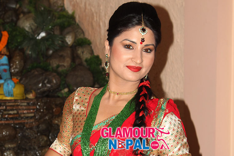nepali movie jhola, Actress Garima Panta