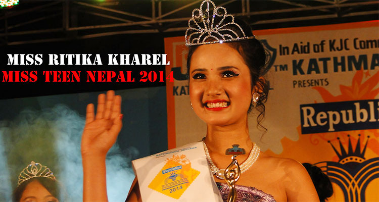 Miss Teen Nepal 2014 Ritika Kharel