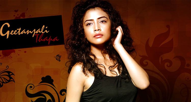an actress of Nepali origin Geetanjali Thapa