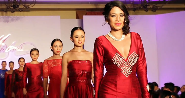 Miss-Nepali-Ishani-Shrestha-in-Mishus-Couture-2015