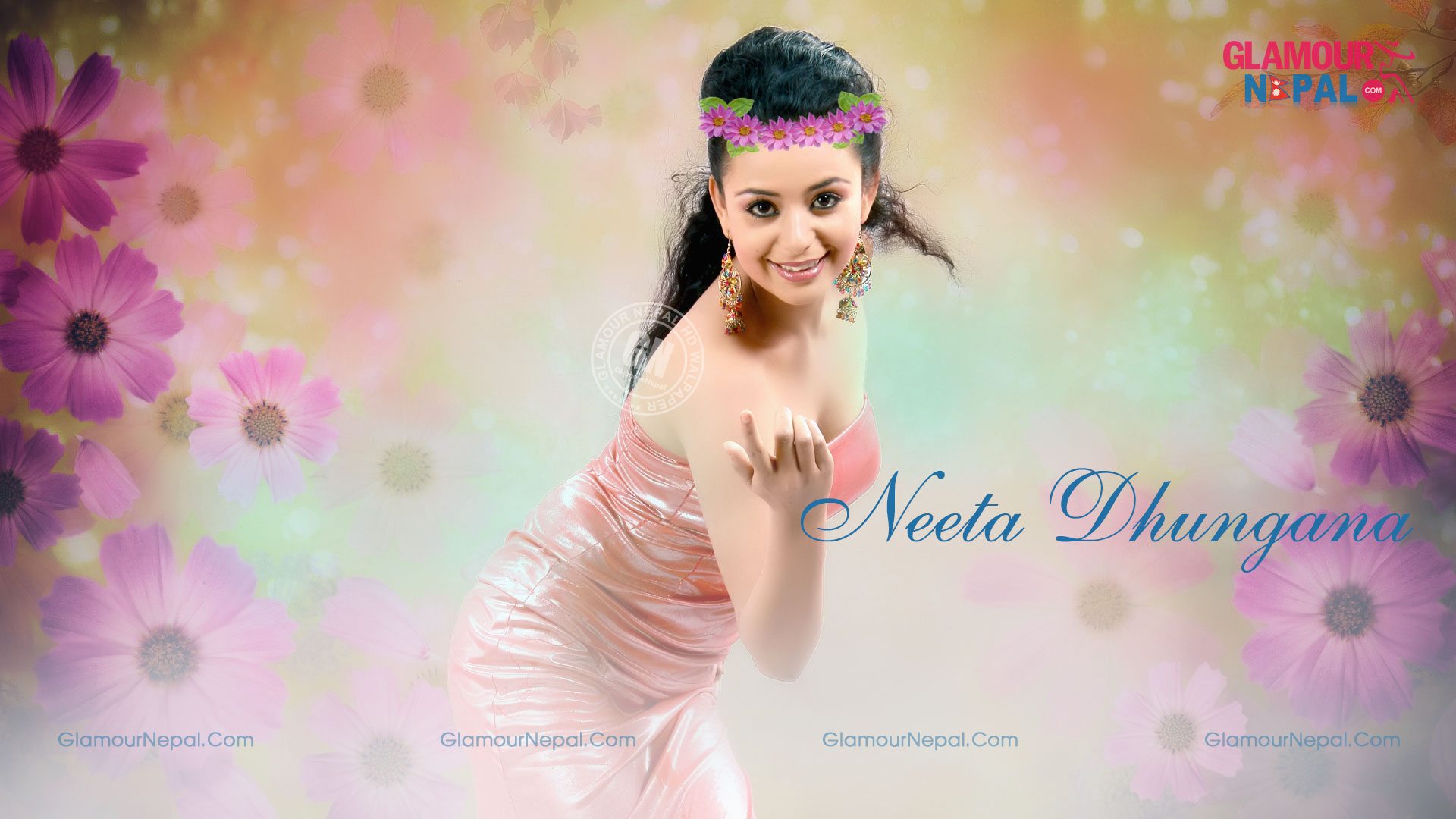 Nepali-Actress-Neeta-Dhungana-HD-Wallpaper-1920x1080-Free-Download