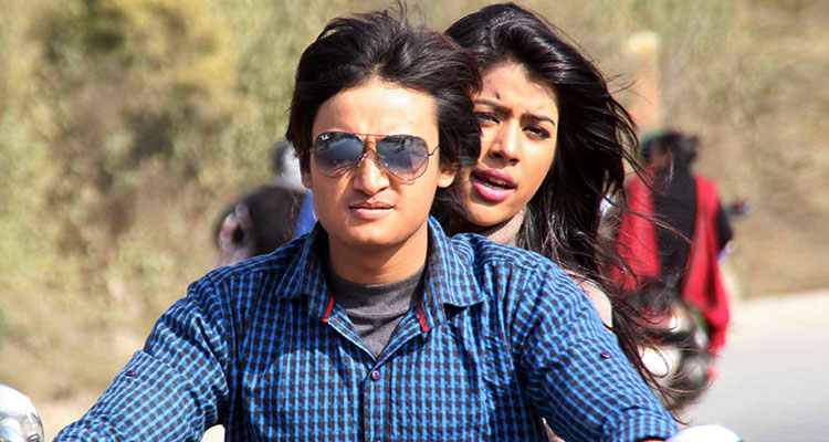 Nepali Actor and Actress Salon Basnet and Rista Basnet