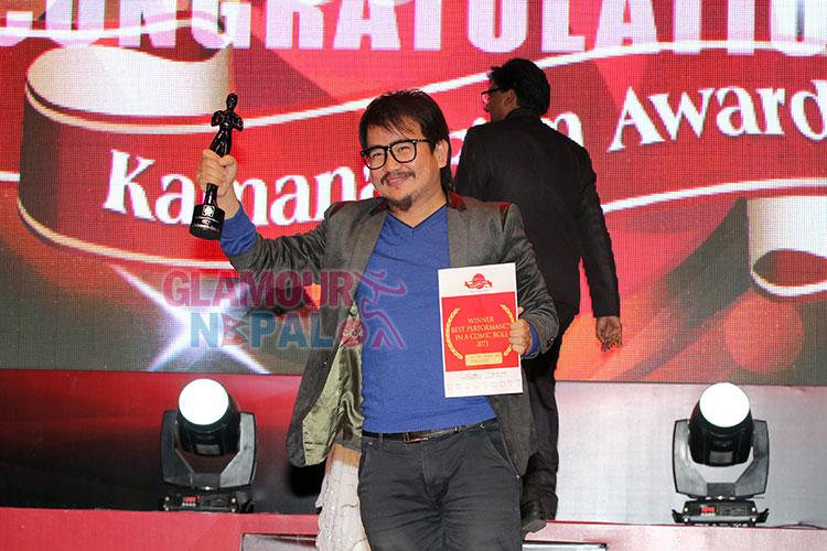 Kamana Film Award Wilson Bikram Rai (1)