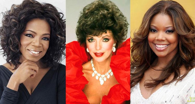 Oprha-Winfrey-Joan-Collins-Gabrielle-Union