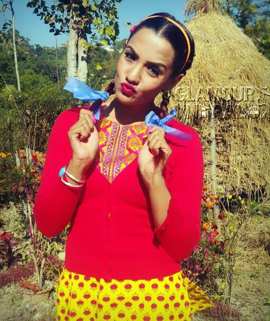 Nepali Actress Priyanka Karki