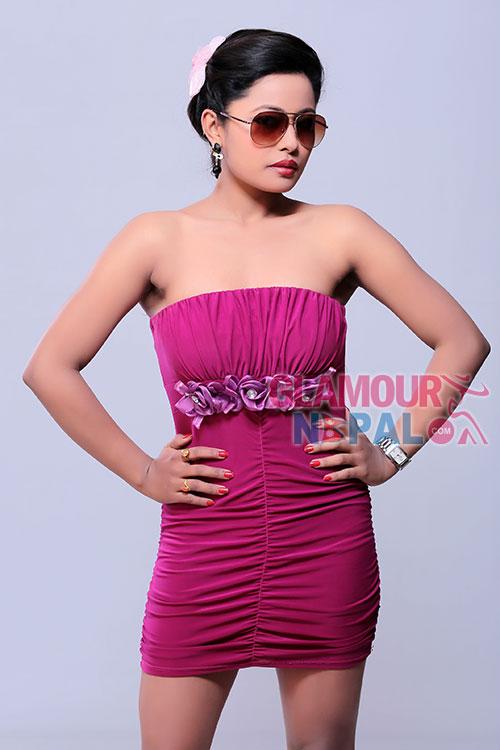 Actress Rajani Kc | Photo by Kamal Shrestha