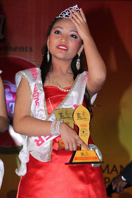 Supriya Hamal Miss Plus 2 Nepal 2014