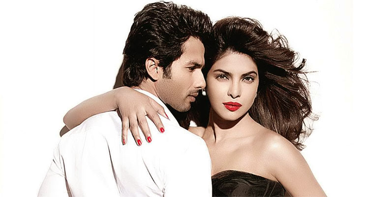 Sahid Kapoor And Priyanka Chopra
