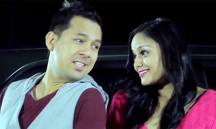 Singer Ram Krishna Dhakal and Actress Richa Sharma