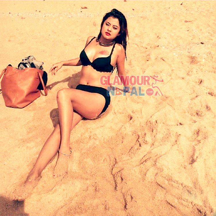 Sushma Karki in Bikini