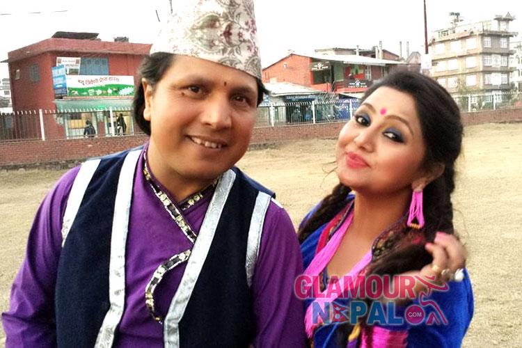 Dipak Raj giri and Deepa Shree Niraula