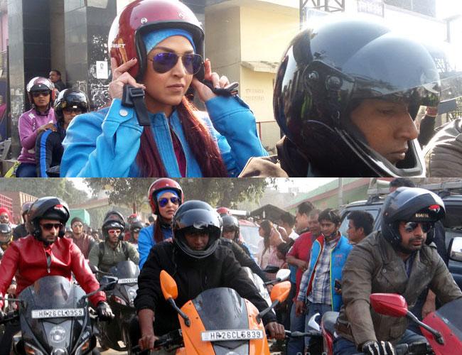 Esha-Deol-MTV-Roadies-in-nepal
