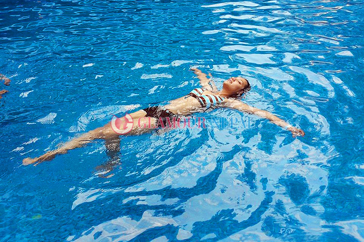 priyanka karki swimsuit photo