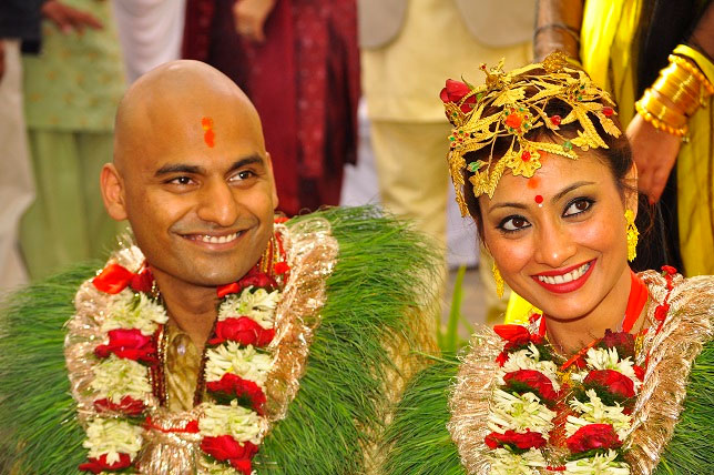 Jharana Bajracharya married Rahul Agrawal