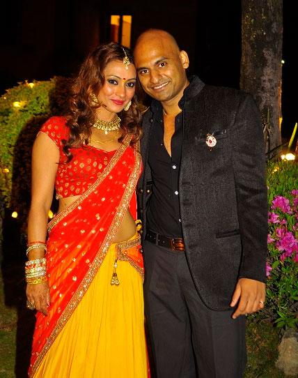 Jharana Bajracharya  married Rahul Agrawal