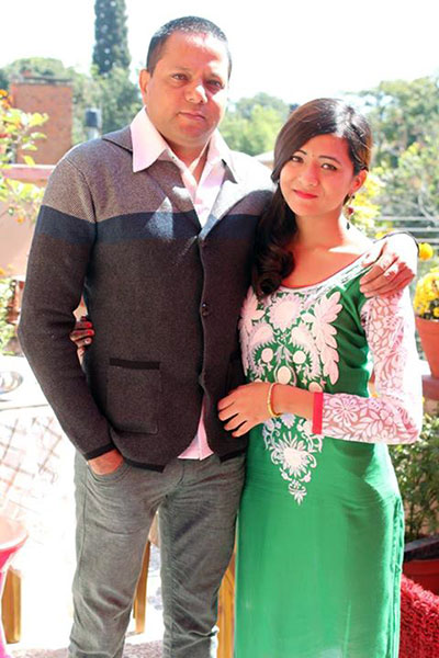 Narayan Puri and Daughter Samyukta