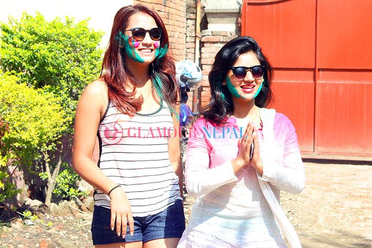 Actress Priyanka Karki and Keki Adhikari