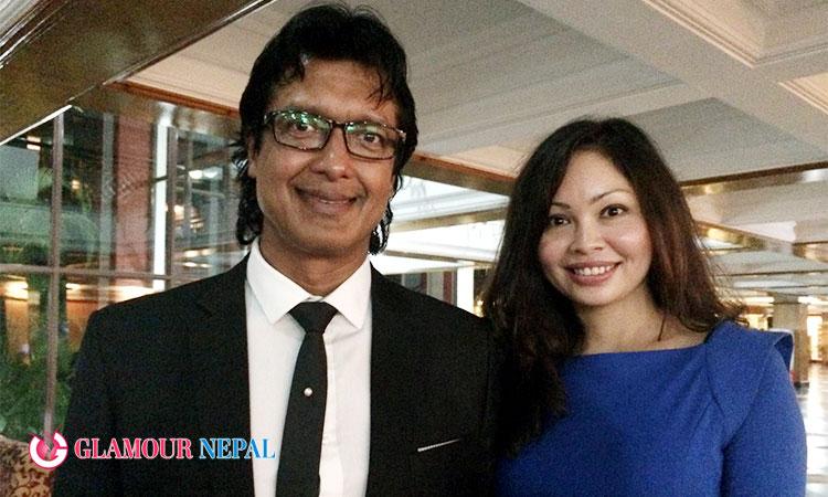 Rajesh Hamal Madhu Bhattarai Husband Wife
