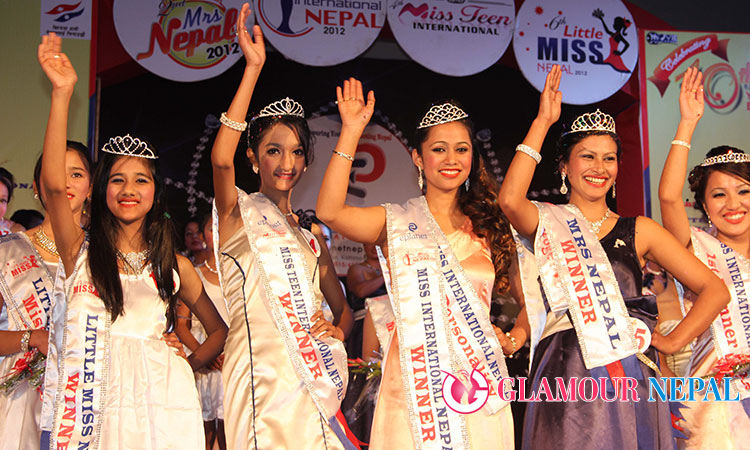 Beauty Pageant in Nepal