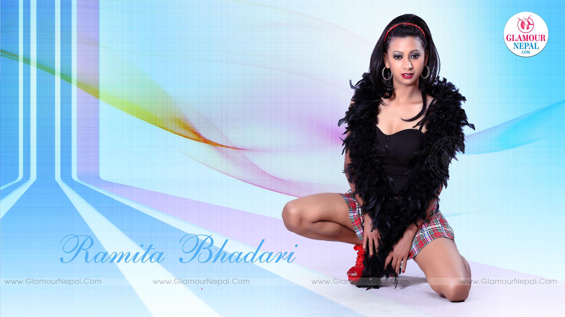 Nepali Model Ramita Bhandari HD Wallpaper