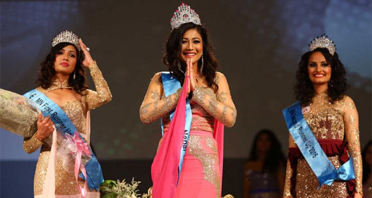 miss nepal 2015 winner evana manandhar