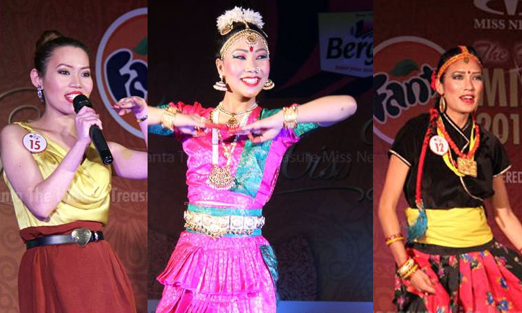 miss nepal talents show