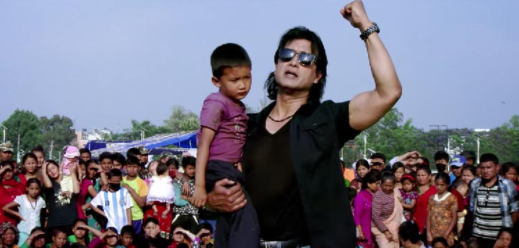 Actor Rajesh Hamal