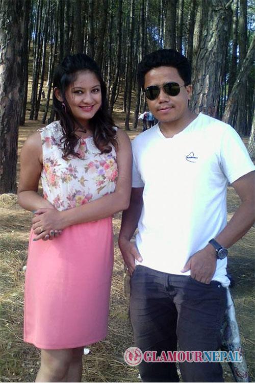 Model Barsha Raut and Singer Prakash Tamang