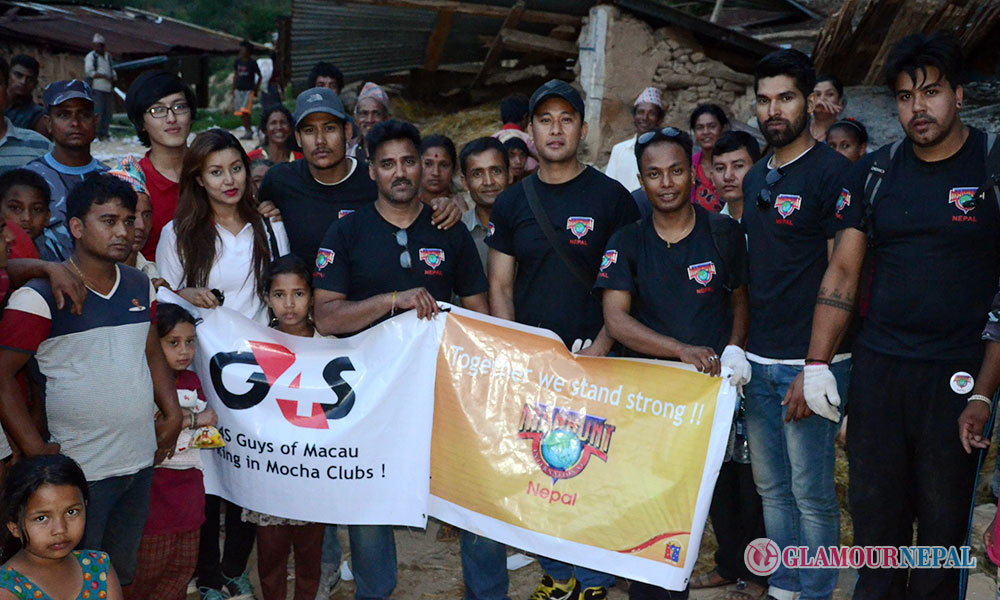 Together we stand strong!! an initiation by makers of Manhunt International Nepal