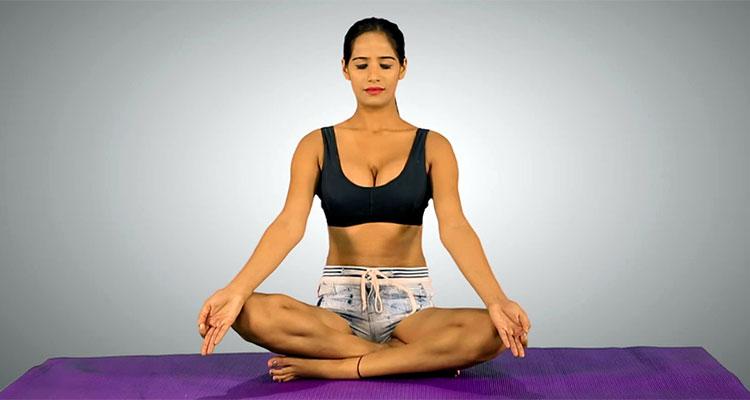 poonam pandey style yoga