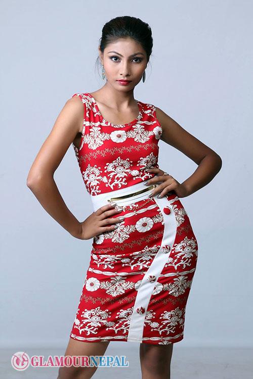 Model Divya Maharjan