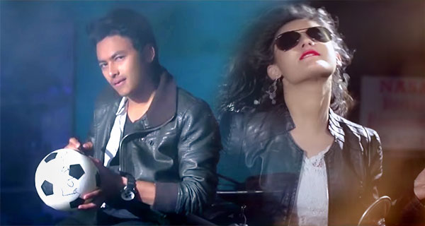 Paul Shah Barsha Raut Music Video Photo