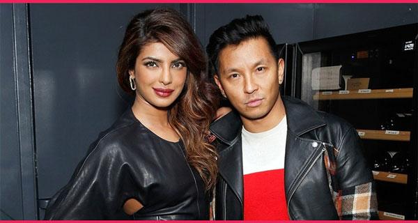 Prabal Gurung and Priyanka Chopra