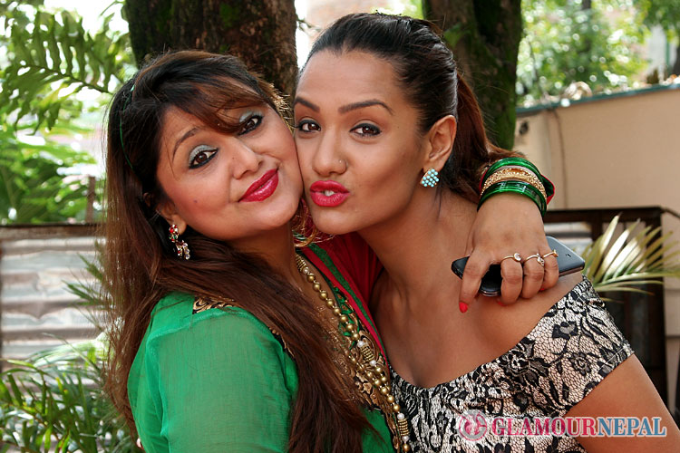 Priyanka Karki Deepa Shree Niraula Photo