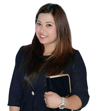 fashion designer santoshi shrestha