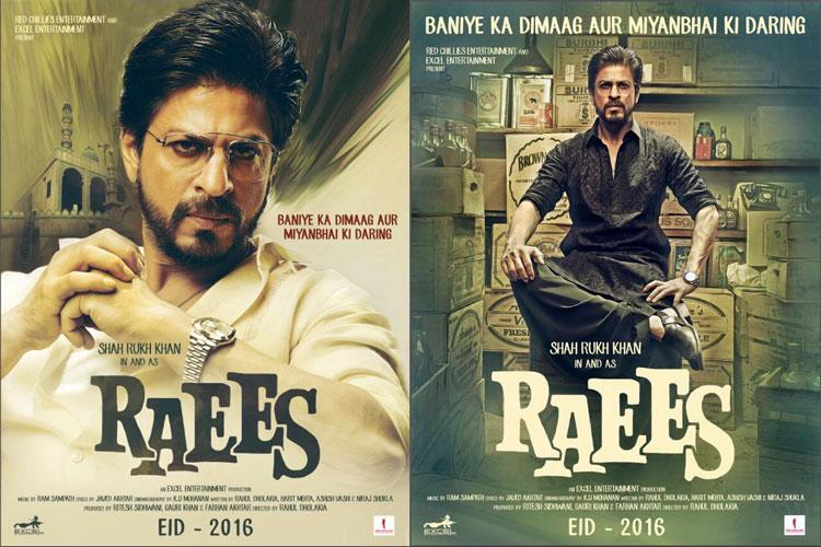 Shah Rukh Khan Raees Poster