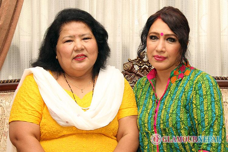 Lyricist Usha Serchan and Singer Devika Bandana Pradhan (1)