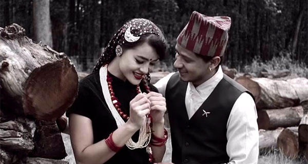 miss mnepal shristi shrestha in nepali music video