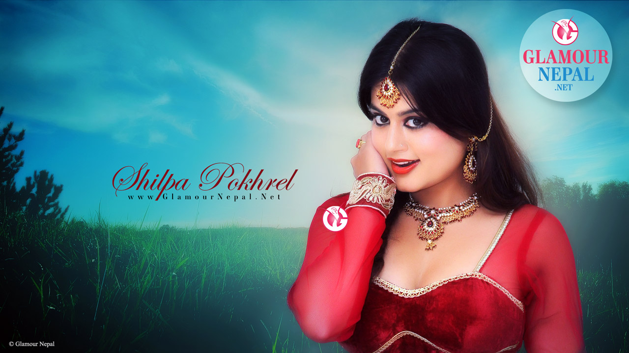 Actress Shilpa Pokhrel HD Wallpaper