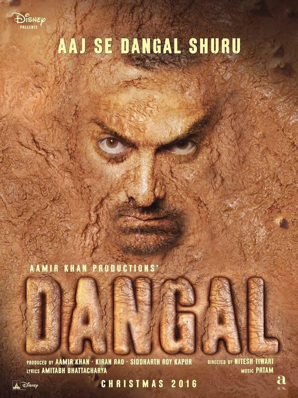 first look poster of Aamir Khan Dangal