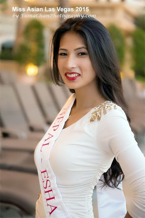 Esha Bajracharya Miss Asian Las Vegas 2015 Contestants