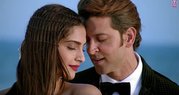 Hrithik Roshan and Sonam Kapoor