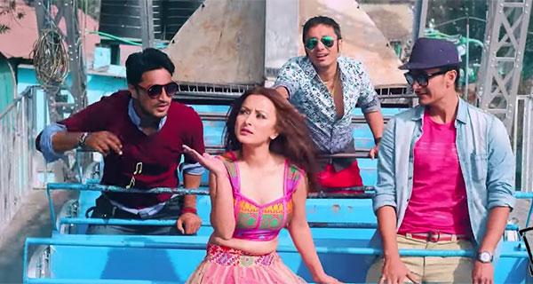 Namrata Shrestha Nepali Movie Adhkatti Photo