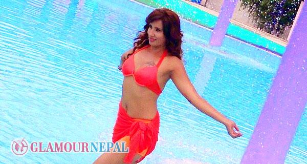 Nepali Actress Suvekshya Thapa Bikini Photo